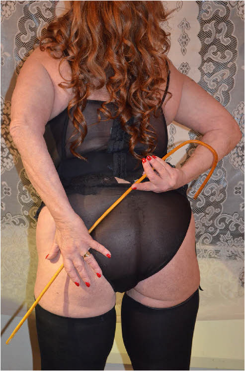 Manchester switch Debbie loves to give and receive the cane