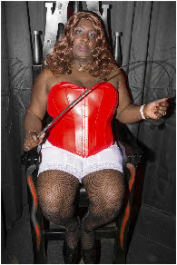 Black Mistress offering spanking and CP